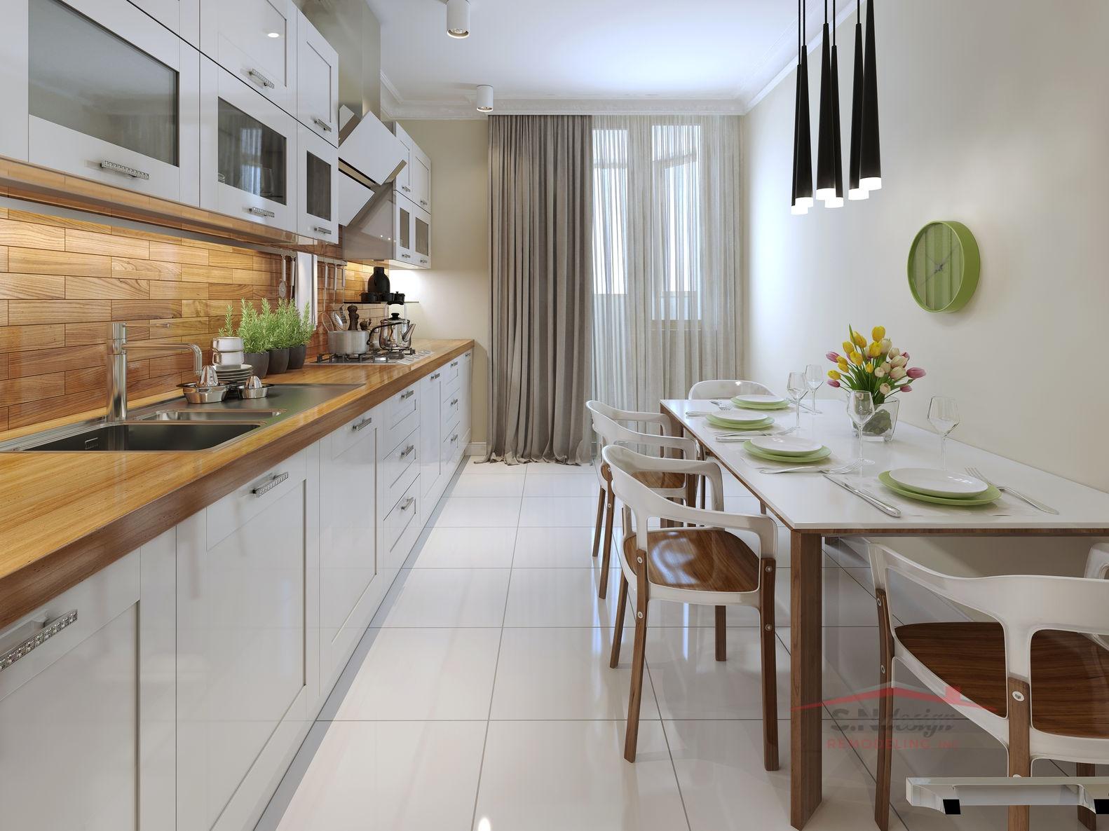47271415 - modern kitchen. 3d render